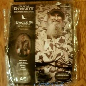 Duck Dynasty Uncle Si Reality TV Costume